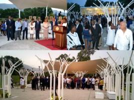 Haiti - Culture : Inauguration of Gardens of the MUPANAH