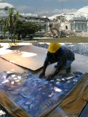 Haiti - Heritage : Rescue of art at the National Palace