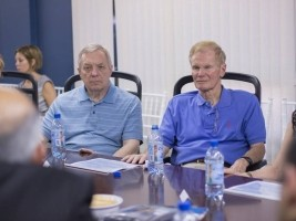 U.S Senators Dick Durbin and Bill Nelson visited Port-au-Prince