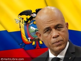 Haiti - Diplomacy : President Martelly will be in Ecuador for the Pope's visit