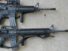 Haïti - FLASH : Des haïtiens volent 2 fusils M16 à des militaires dominicains