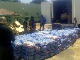 iciHaïti - République Dominicaine : Saisie de plus de 4 tonnes d'ail de contrebande, en provenance d'Haïti