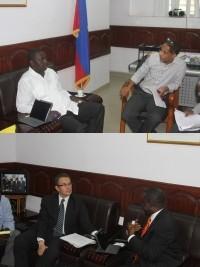 iciHaiti - Agriculture : Haiti and Romania discuss agricultural cooperation
