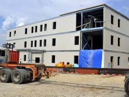 Haiti - Reconstruction : The future Ministry of TPTC completed soon