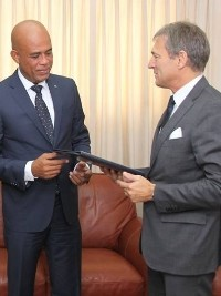 New Ambassador of the European Union in Haiti