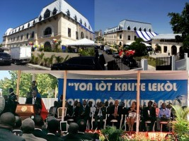 Opening ceremony of the Lycée Alexandre Pétion – Added COMMENTARY By Haitian-Truth