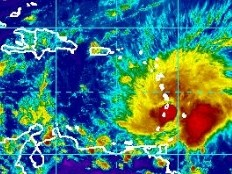 Haiti - Climate : Hurricane Tomas, Haiti under orange alert