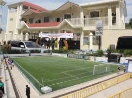 Ha ti politique double inauguration canap vert for Canape vert haiti