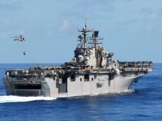 USS Iwo Jima en route to Haiti