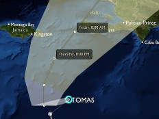 Haiti - Tomas : Double risk for Haiti