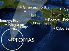 Haiti - Tomas : Latest on Tropical Storm