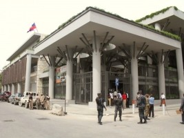 Haiti - Reconstruction : Inauguration of Convention and Documentation Centre of the BRH