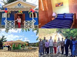 Haiti - Tourism : Bassin Zim, a model of sustainable development
