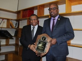 The Minister Casimir, honored by the Court of Appeal of PAP