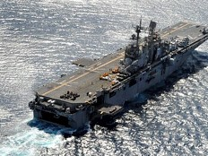 Haiti - Humanitarian : USS Iwo Jima left Haiti today
