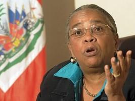 Haiti - Politics: Mirlande Manigat advocates for a transitional government