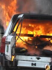 Haiti - Social : Beginning of riot in Kenscoff
