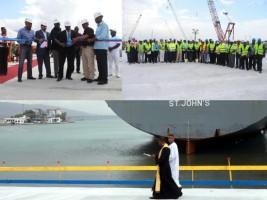 iciHaïti - Reconstruction : Inauguration du Quai Nord du Port International de Port-au-Prince