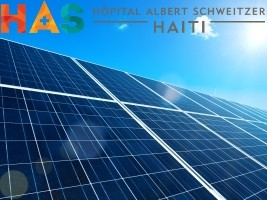 The Albert Schweitzer Hospital converts to solar power