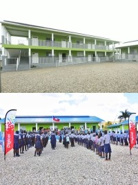 The Digicel Foundation inaugurates 5 schools