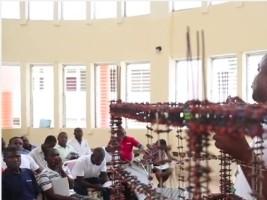 iciHaïti - Grand'Anse : Formation de maçons en construction parasismique