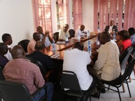 Haiti - Politics: Minister Abel Nazaire met with sports federations and associations