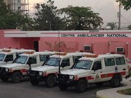 iciHaïti - Santé : Bilan positif du Centre Ambulancier National