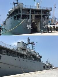 iciHaïti - Économie : Premier bateau à accoster au nouveau Quai Nord du Port International