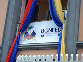 Haiti - Europe : Official inauguration of the new building of BONFED