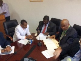 Haiti - Agriculture : Signature of an agreement for the revival of lemon production