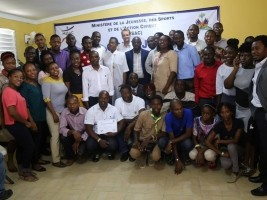 iciHaiti - Politic : End of trainings in management of sports facilities