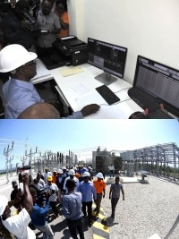 Haiti - EDH : A High-Tech substation in Tabarre