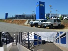 Ha ti justice inauguration de la nouvelle prison de for Hopital canape vert haiti