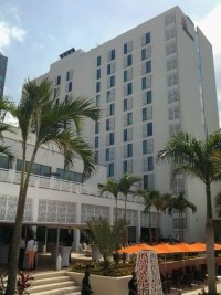Haiti - Tourism:  The Marriott Hotel in Port-au-Prince receives a certificate of excellence