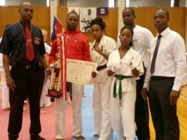 Haiti - FLASH : Jean Joseph Reynold World Champion of kyokushinkai