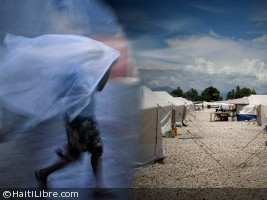 Haiti - Matthew : 55,107 persons in camps in Haiti without protection...
