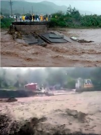 Haiti - FLASH : The bridge Ladigue collapses - Situation West - PAP