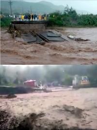 Ha ti flash le pont ladigue s 39 effondre situation for Hopital canape vert haiti