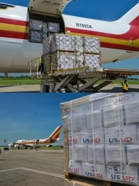 Haiti - USA : Over 480 tons of U.S. aid