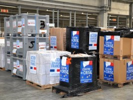 Haiti - Humanitarian : France responds to the call for help of Haiti