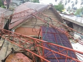 iciHaïti - Petit-Goâve : Matthew, 6 stations de radio gravement endommagées