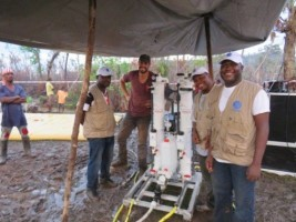 Haiti - France : 6 mobile stations of water treatment, in the Great South