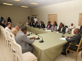 Haiti - Agriculture : Privert concerned about the threat of famine