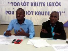 Ha ti politique le gouvernement jeunesse tire la for Hopital canape vert haiti