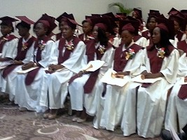 Haiti - Health : Graduation of the First Promotion of Midwives of the INSFSF