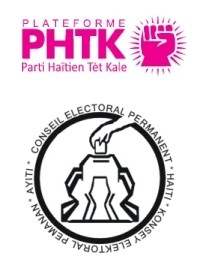 Haiti - Elections : PHTK lawyers protest at CEP