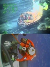 iciHaiti - FLASH : Successful sea rescue