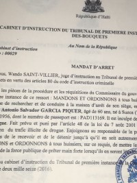 Haiti - FLASH : Spanish arrested in Europe, soon transferred to Haiti