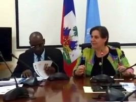Haiti - Politics : Signature with UNDP of the Local Governance Project