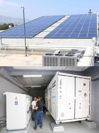 Haiti - Technology : Inauguration of a solar power plant for the Champ-de-Mars